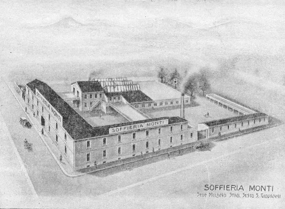 sede storica Soffieria Monti Dal 1983